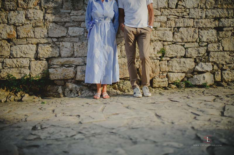 wedding photo shooting Croatia by Luca Savino