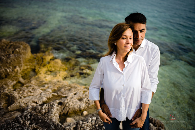 Engagement photo reportage in Rovinj Croatia