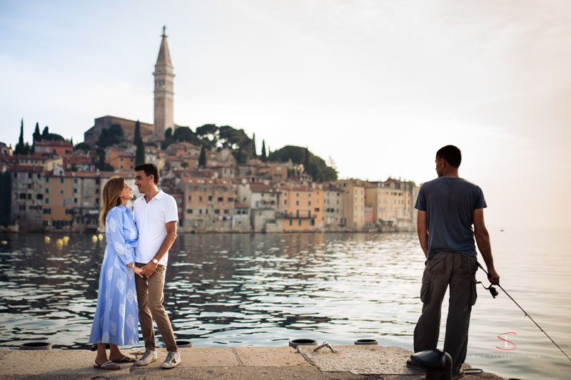 wedding ceremony in Croatia by Luca Savino photographer