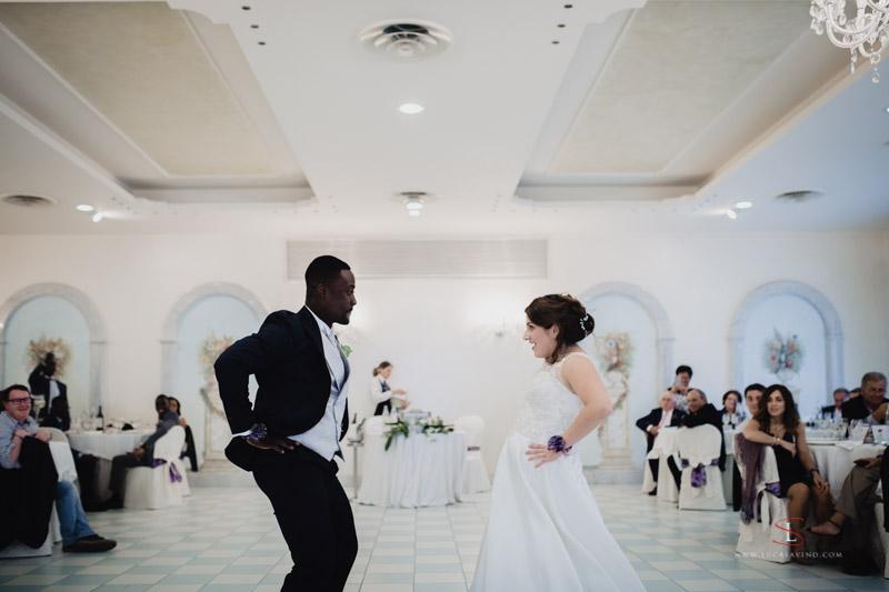 Festa di matrimonio ad Ancona Giulia e Jules