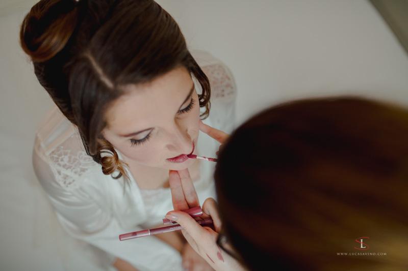 Foto preparativi matrimonio ad Ancona