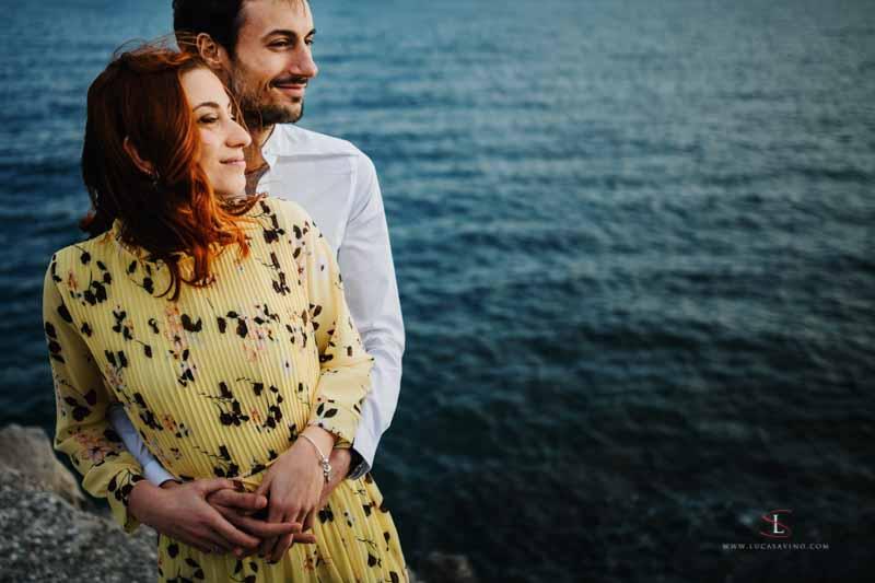 Fotografo Trieste | Alessia + Angelo prematrimoniali a Sistiana