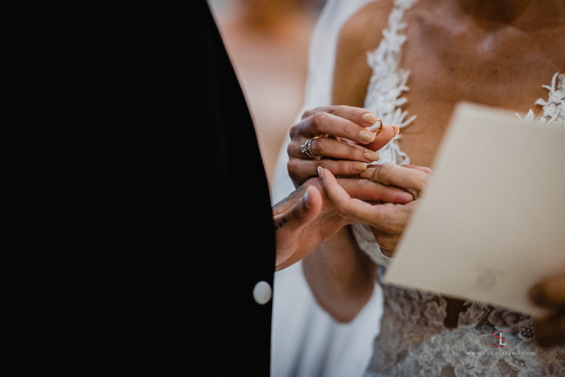 Wedding ring picture - Luca Savino Photography
