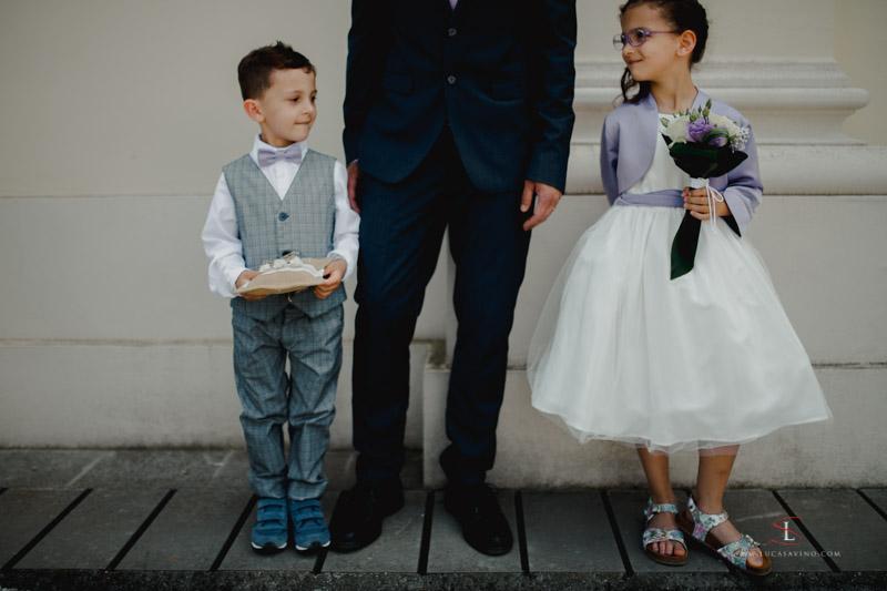 marriage photos in Gorizia villa Attems by Luca Savino