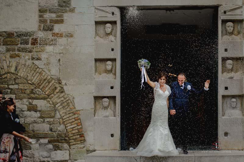 Lancio del bouchet matrimonio Gorizia by Luca Savino fotografo