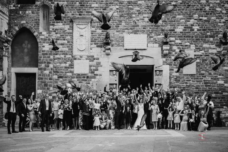 wedding ceremony picture Italy by Luca Savino