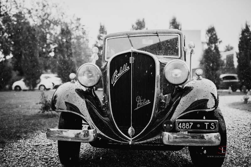 Auto d'epoca per matrimoni a Gorizia