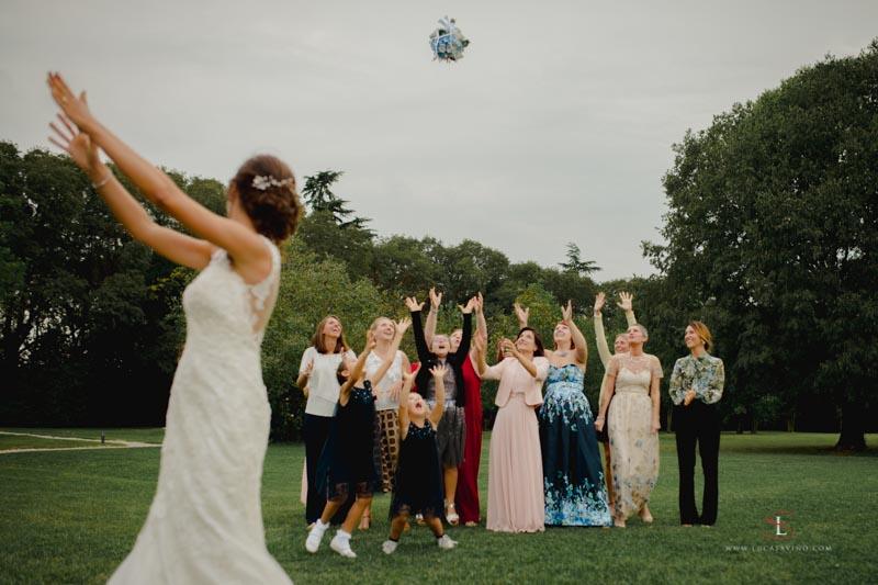 lancio del bouchet matrimonio Gorizia