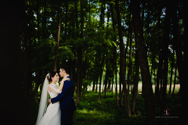 wedding photo reportage in Gorizia villa Attems by Luca Savino
