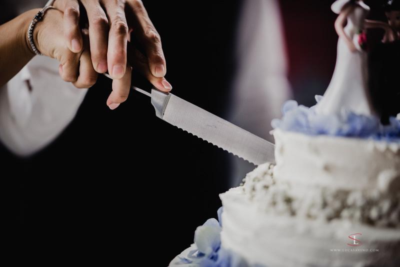 Taglio della torta matrimonio Gorizia by Luca Savino fotografo