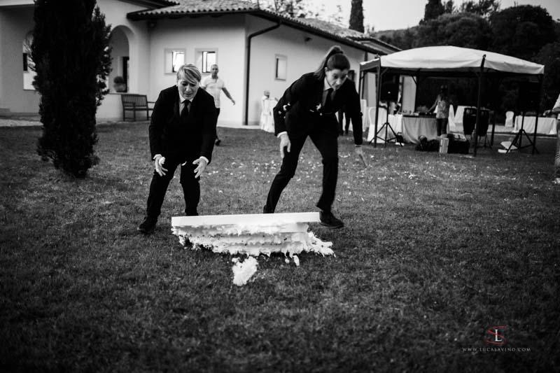 marriage in villa Attems Gorizia by Luca Savino photographer