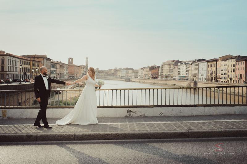 Dorotea + Filippo matrimonio a Lucca