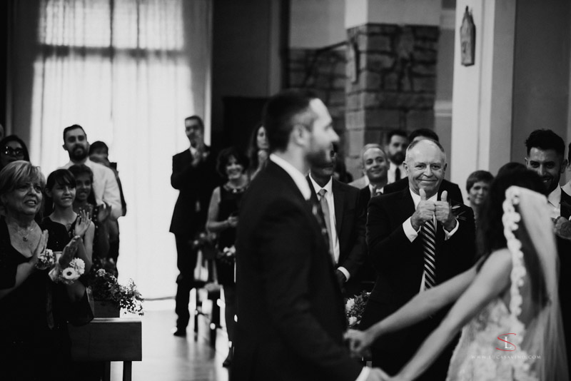 wedding ceremony Chianti Tuscany by Luca Savino photographer