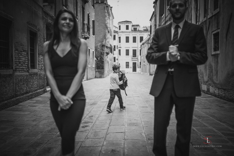 Engagement shooting in Venice