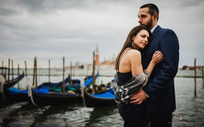 Engagement shooting in Venice by Luca Savino: Shannyn and Mark