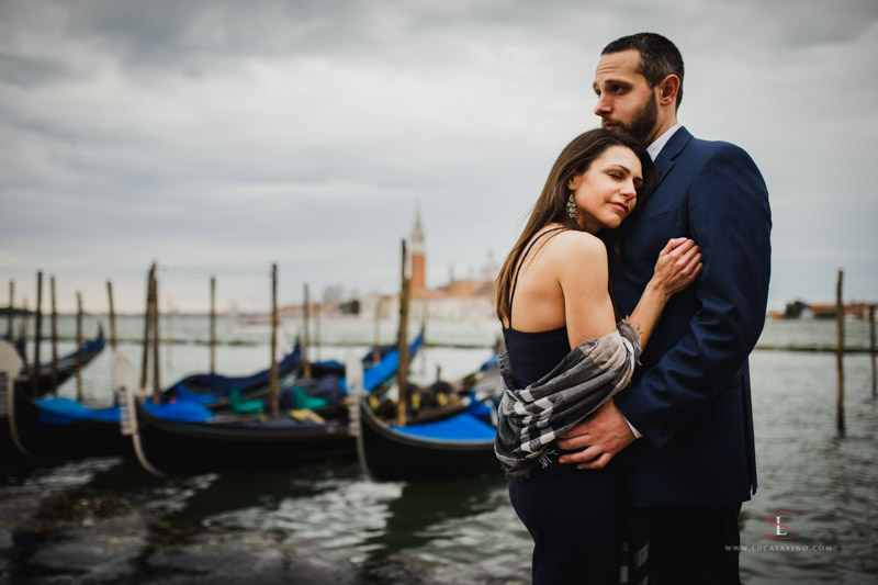 Shannyn + Mark engagement in Venice