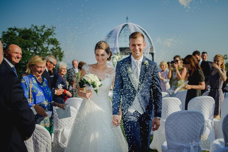 Matrimonio elegante a Baronesse Tacco a Gorizia – Francesca e Federico