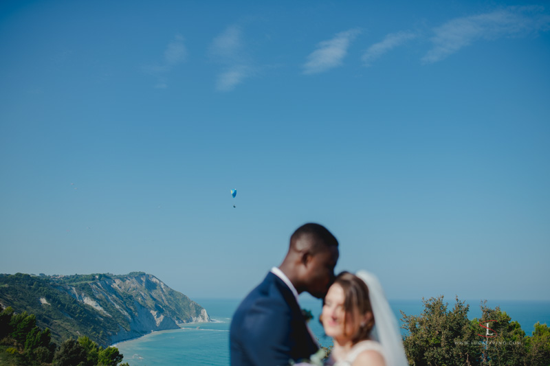 wedding landscape in Ancona Italy by Luca Savino