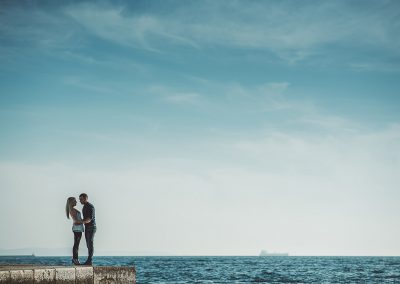 pre wedding photo session Trieste by Luca Savino