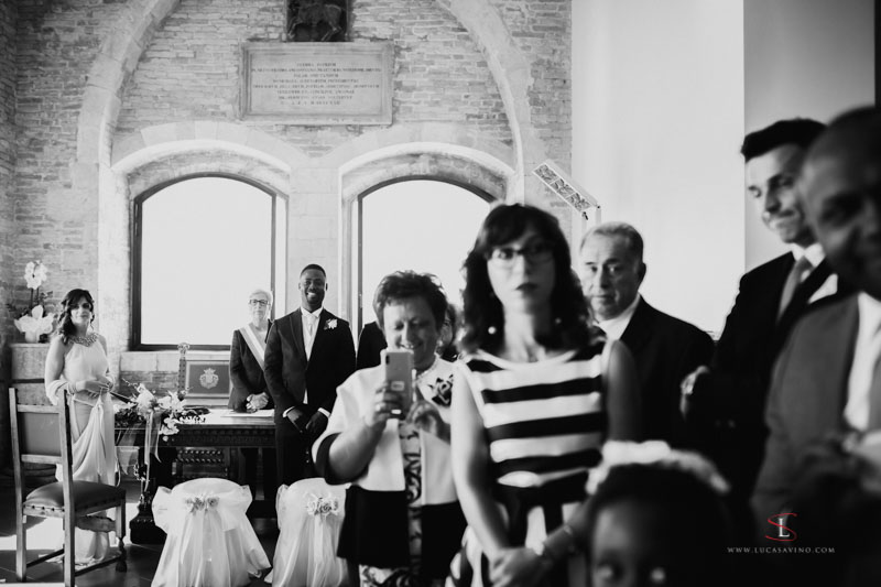 wedding ceremony Ancona Italy by Luca Savino