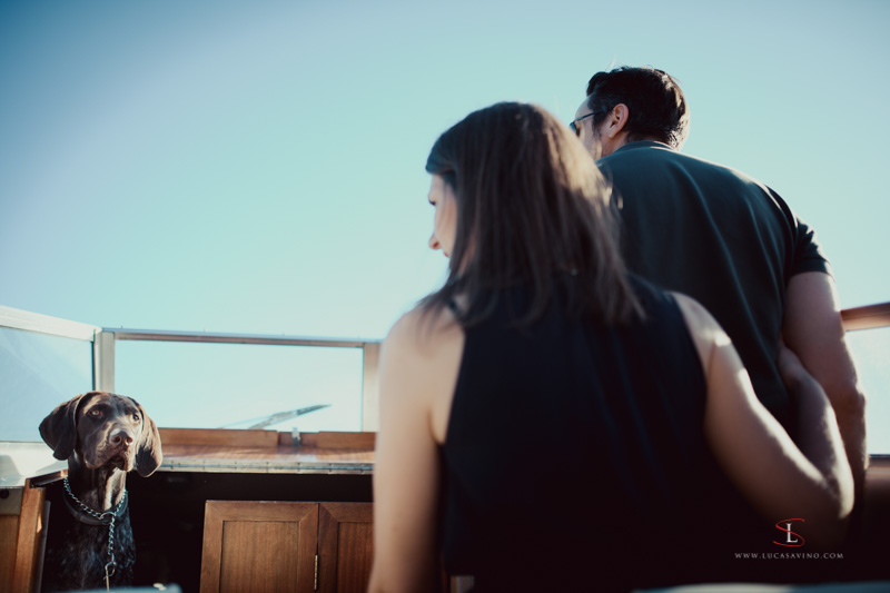 engagement shooting session in Trieste seaside by Luca Savino