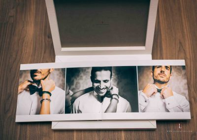 wedding picture book by Luca Savino