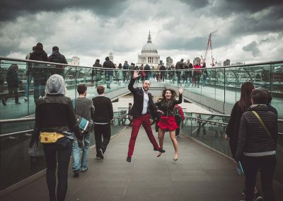 foto prematrimoniali a Londra con Luca Savino