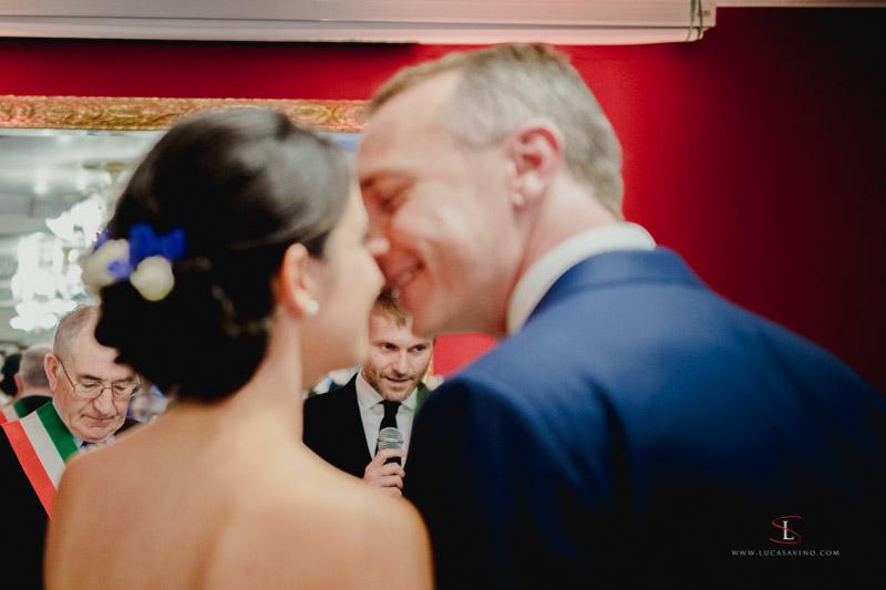wedding ceremony Treviso Italy by Luca Savino