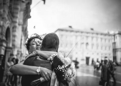 wedding pictures Trieste Piazza Unità Italy Luca Savino