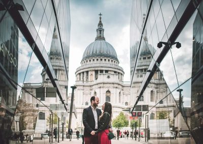 prewedding photo in London by Luca Savino
