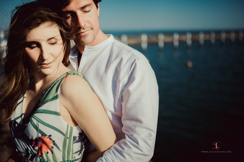 wedding reportage in Grado Adriatic sea by Luca Savino