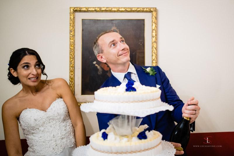 wedding cake Treviso villa Braida by Luca Savino photographer