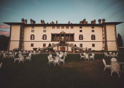 fotografo matrimonio Toscana villa Artimino