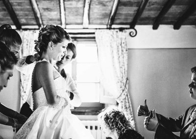 wedding in castello di Gargonza tuscany Luca Savino photography